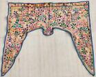 Ethnic Embroidery Rabari Mirror Tribal Tapestry Decor Door Valance Indian Toran