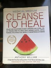 Medical Medium Cleanse to Heal by Anthony William (Hardcover,2020)