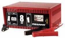 ABSAAR Batterieladegerät 8 Ampere 6/12 Volt KFZ Ladegerät - Auto PKW Motorrad