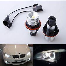 BMW E39 E87 E60 E63 E64 E65 E66 E53 E83 LED ANGEL EYES HALO LIGHT 3W WHITE BULB