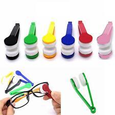 Microfibre Glasses Spectacles Eyeglasses Lens Cleaner Brush Wipers Optic