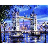 DIY 5D Diamond Painting Kits Full Drill Embroidery Cross Stitch London Bridge