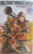 Tamiya 1/35 scale kit 35086, U.S. Gun and Mortar team.