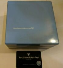 Light Blue and Silver TechnoMarine Empty Presentation Watch Box