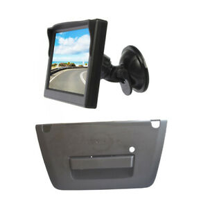 Reverse Camera & Windshield Suction Cup Rear View Monitor for Nissan Frontier