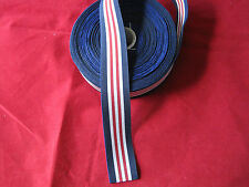 36 inches of Full Size Military medal 1916 - Ribbon  (Yard ) long # FREE POST #