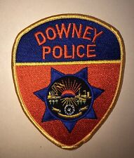 Downey California Police Department Patch
