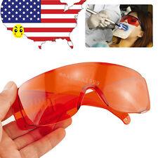 Medical Dental LED UV Curing Light Protective Safety Eye Goggles Glasses Eyewear