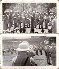 WWII US Army Air Force Ft Logan Marching Band Denver Colorado Rodeo Photos (2)