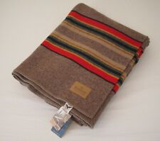 Pendleton Yakima Camp Wool Blanket Twin Size Mineral Umber USA Made