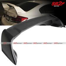 ABS Black Mug RR Trunk Lip Spoiler Wing fits 2012-2015 Honda Civic 4DR Sedan