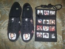 Michael jackson shoes and side purse