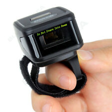 Handheld Bluetooth Ring Finger Barcode Scanner Reader For Android iOS Win7/8 ATQ