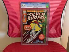 Silver Surfer #14 CGC 9.0 Spider-Man Crossover