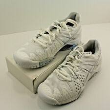 ASICS Gel-Resolution 6 Clay Court Sneaker Tennis Shoe Size 5 White Silver