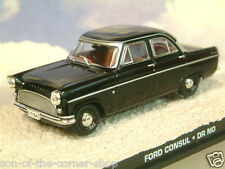 DIECAST 1/43 JAMES BOND 007 FORD CONSUL IN BLACK FROM DR NO 1962 SEAN CONNERY