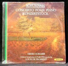 SEALED Schumann Goraieb de Froment