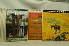 lot lp records Lee Arnold On a Country Road radio show George Morgan Cool Water