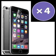 4x Apple iPhone 6s Plastic Film Screen Protector (Clear) 2D Fast Delivery