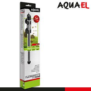 Aquael Platinium Heater 200 Aquarienheizung Heizstab Wassertemperatur Pflanzen