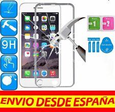 645fa98ce78 Protector Cristal Templado COMPLETO BORDE SILVER APPLE IPHONE 6 PLUS KIT  LIMPIEZ
