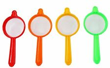 Plastic Tea and Coffee Strainers, Multicolour (Set of 5) Express Shipping