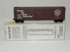 N SCALE MTL B&O 50' STANDARD BOX CAR DOUBLE DOOR; 34070 NIB
