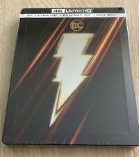 Shazam! - Édition Limitée SteelBook (4K Ultra HD + Blu-Ray 3D + Blu-Ray, Set de 3 Disques, 2019)