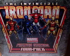 Invincible Iron Man 4 Pack Marvel Comics Statue Bowen Designs 2009 Avengers