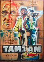 Plakat Tam-Tam Pedro Armendariz Kerima Mastroianni Afrika Dschungel 120x160cm