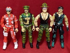1986 Vintage Gi Joe Lot of Figures