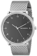 Skagen Original SKW6175 Men's Black Dial Stainless Steel Mesh Watch Chrono