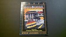 Gurps Autoduel by Steve Jackson Games -Car Wars Rpg
