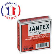 VELOX JANTEX COMPETITION 76 COTTON RIM TAPE TUBULAR GLUING ADHESIVE BIKE WHEEL