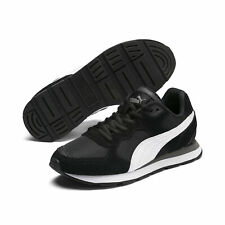 PUMA Unisex Vista Sneaker Black White 6 M US Big Kid
