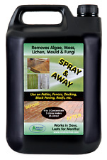Patio Cleaner Decking Fencing Mould Algae Moss Killer Remover Drive cleaner 5L