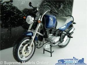 BMW R 1100R MOTORBIKE MODEL 1:24 SCALE MINICHAMPS 242 RR 1101 BLUE BIKE K8