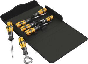 Wera 137813 7 Piece Kraftform 900/7 set 3 Hammer Thru Chisel Screwdriver Set
