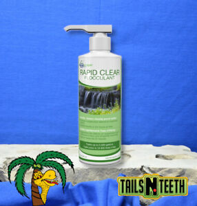 Aquascape Rapid Clear 236ml ~ Quickly Clears Cloudy Water in 24hrs or Less