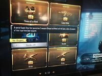 Black ops 3  Modded Account for on PS4 with Modded Classes