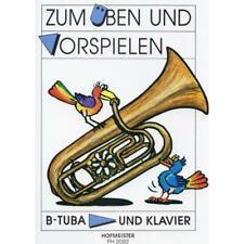 Zum Üben und Vorspielen  - Noten für Tuba in B und Klavier 2092 - 9790203420927