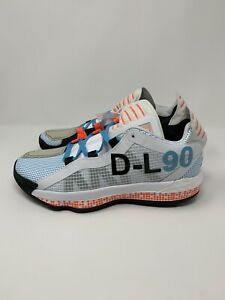 adidas Dame 6 Pusha T I Am My Own Fan FW5749 Size 10 White/Black/Solar Red