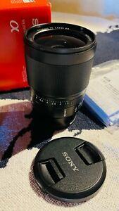 Sony Zeiss FE 35mm f1.4 ZA as NEW / PRISTINE - Sony E mount