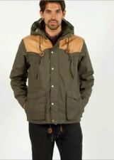$299 PENFIELD TRAILWEAR LAKEVILLE PARKA JACKET M in Olive w Hood & Leather Yoke