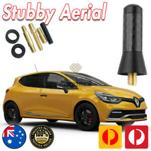Antenna / Aerial Stubby Bee Sting for Renault CLIO RS200 Turbo 2013-2019 Black