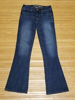 American Eagle AEO Skinny Kick 360 Super Stretch Jeans Womens Size 00 Short EUC