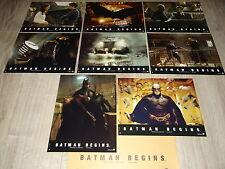 BATMAN begins  !  jeu photos cinema comics