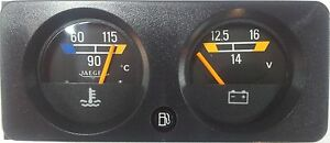 RENAULT GAUGES SET (TEMPERATURE GAUGE + VOLTMETER) JAEGER