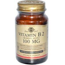 Solgar Vitamin B2 riboflavin 100 mg - 100 Veg Caps