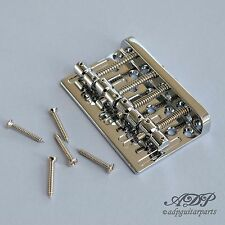 Cordier Bass style Gotoh Vintage Bass Bridge Rail Brass ChromeE MadeInKorea Eco